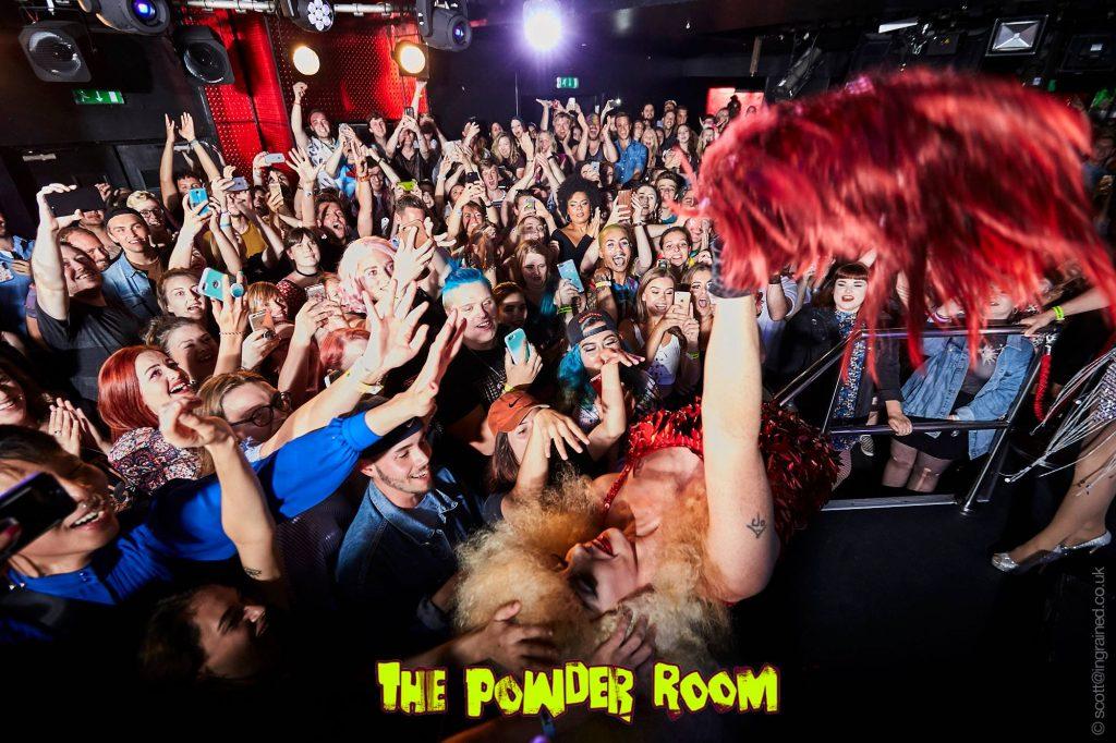 Alyssa Edwards at The Powder Room