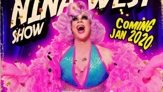 Nina West at The Powder Room